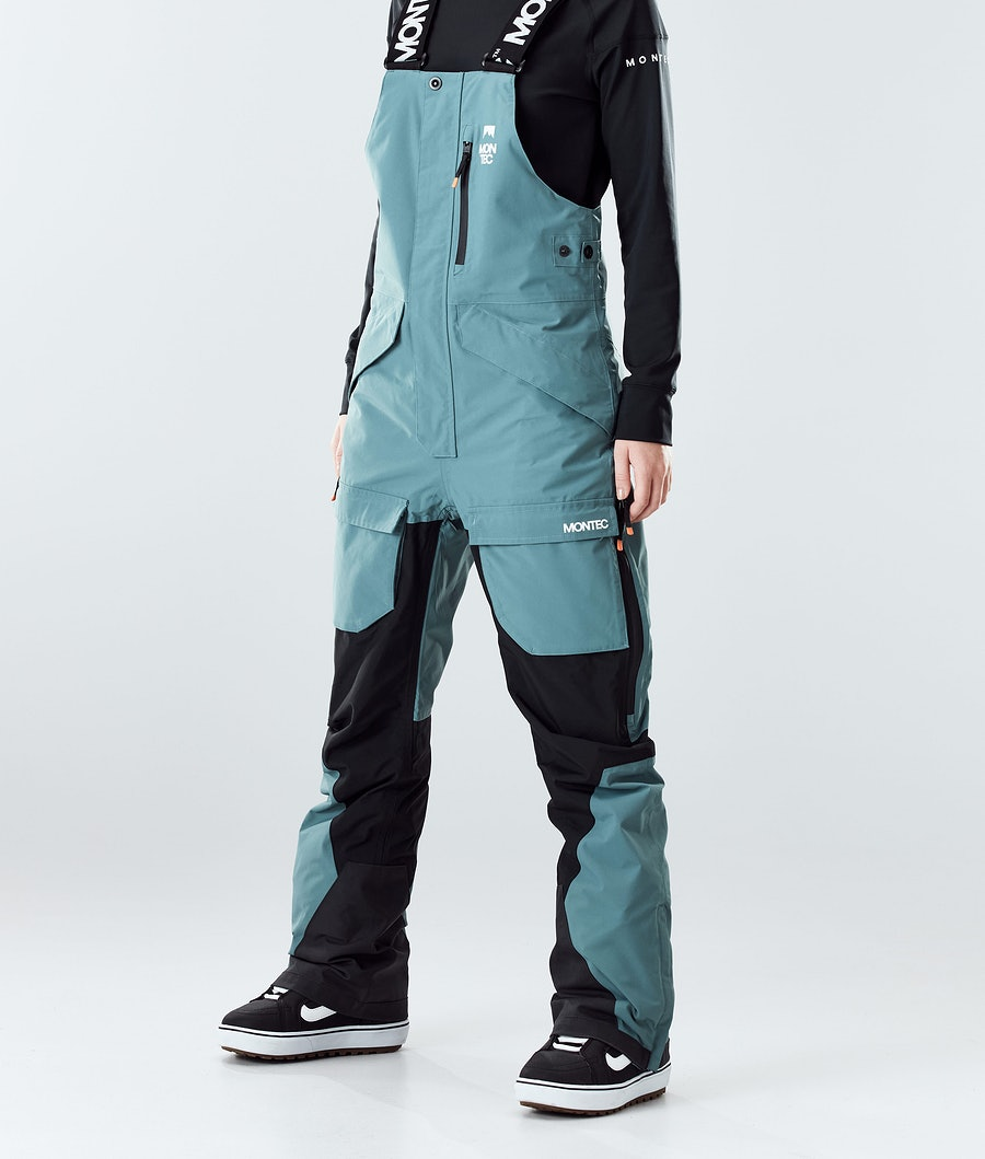 Montec Fawk W Snowboard Broek Atlantic/Black