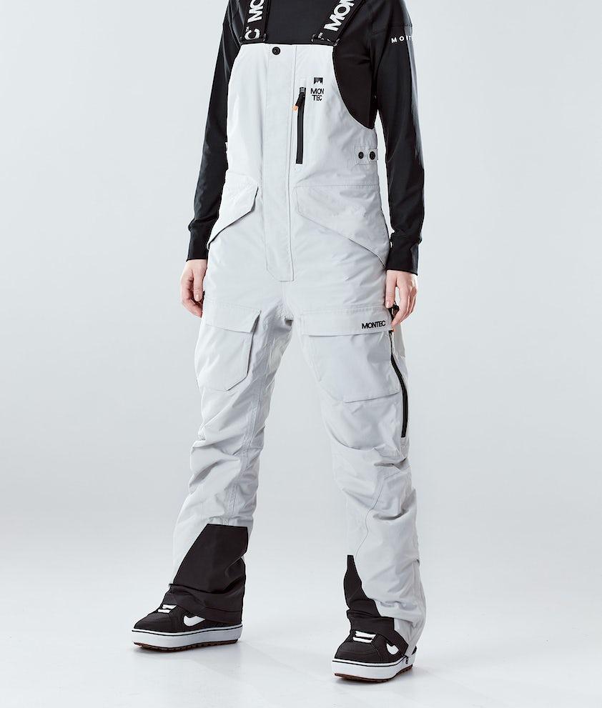 Montec Fawk W Snowboardhose Light Grey