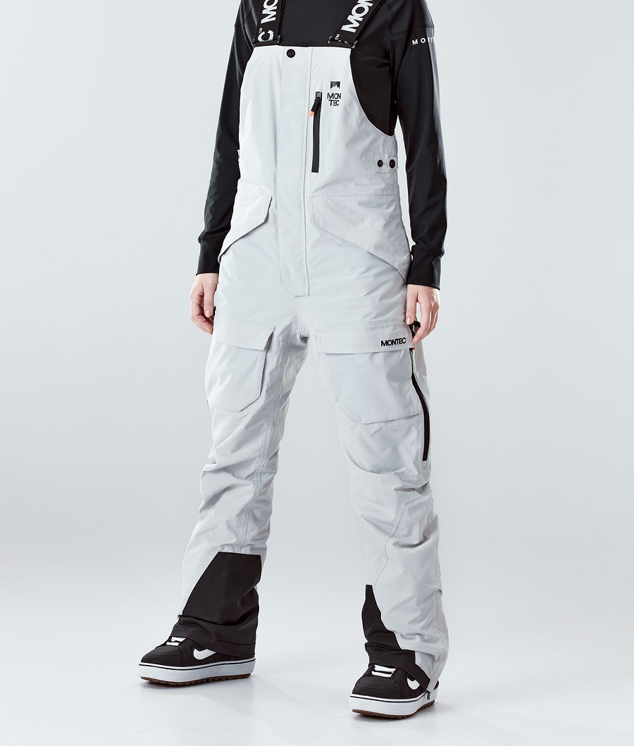 Montec Fawk W Snowboard Broek Light Grey