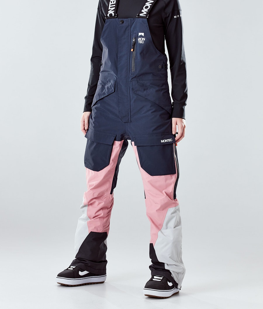 Montec Fawk W Snowboard Broek Marine/Pink/Light Grey