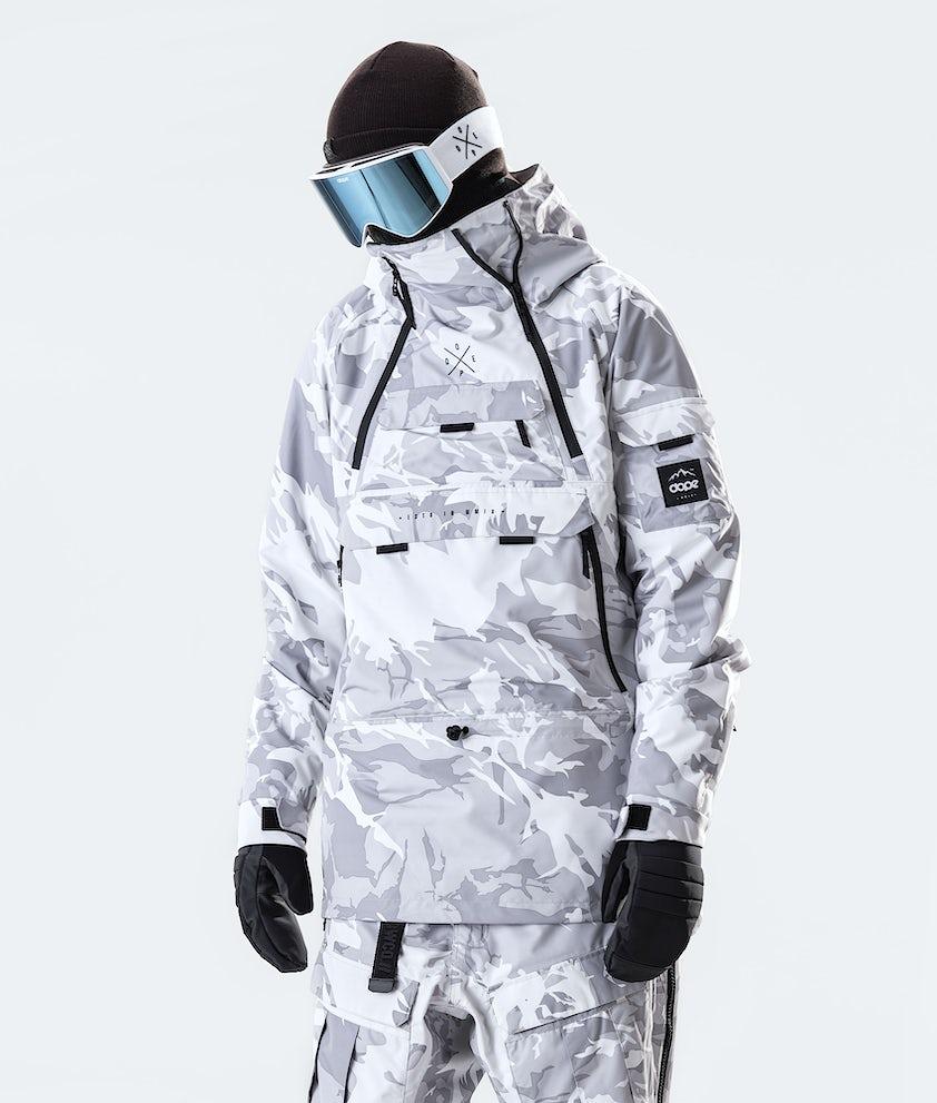 Akin Snowboard Jacket Men Tucks Camo