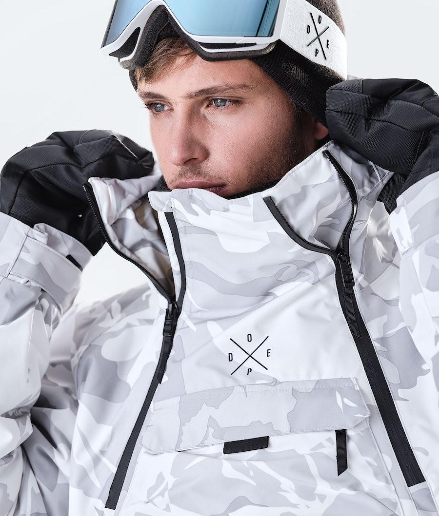 Dope Akin Giacca da Snowboard Tucks Camo