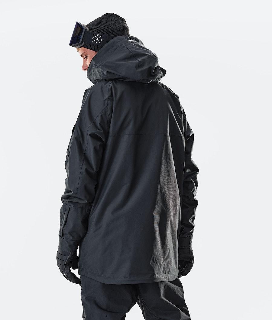 Dope Akin Ski Jacket Black