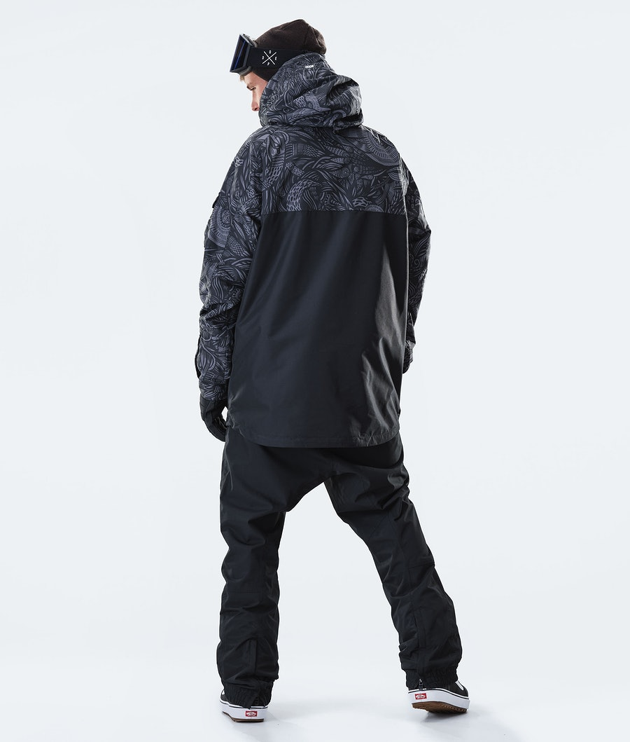 Dope Akin Snowboard Jacket Shallowtree/Black