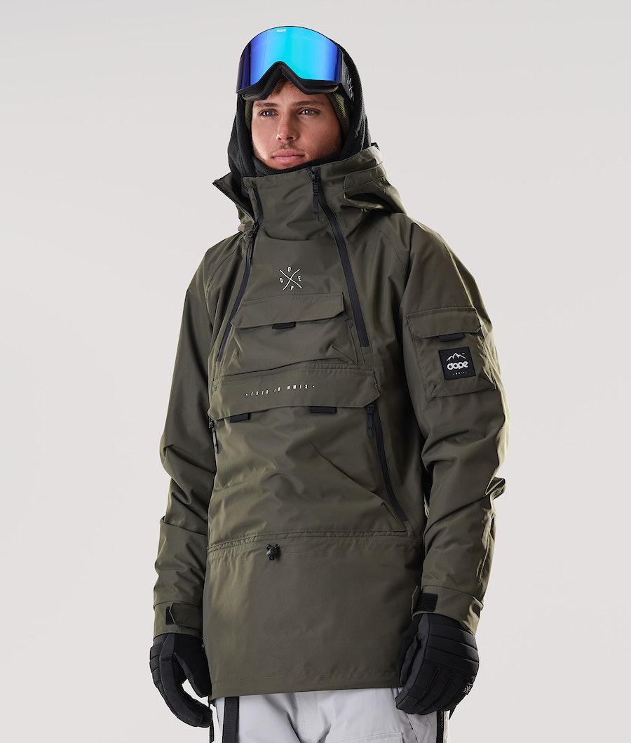 Dope Akin Veste de Snowboard Olive Green