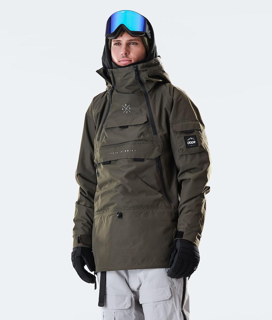 Dope Akin Snowboardjacke Olive Green