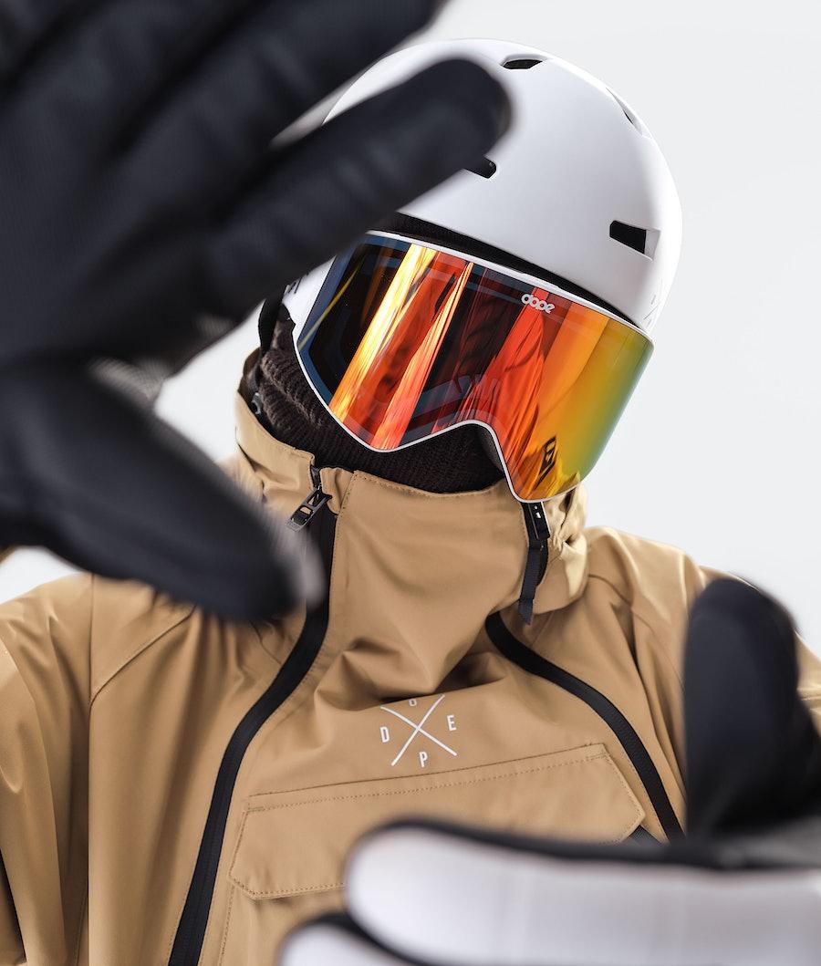 Dope Akin Snowboard jas Gold
