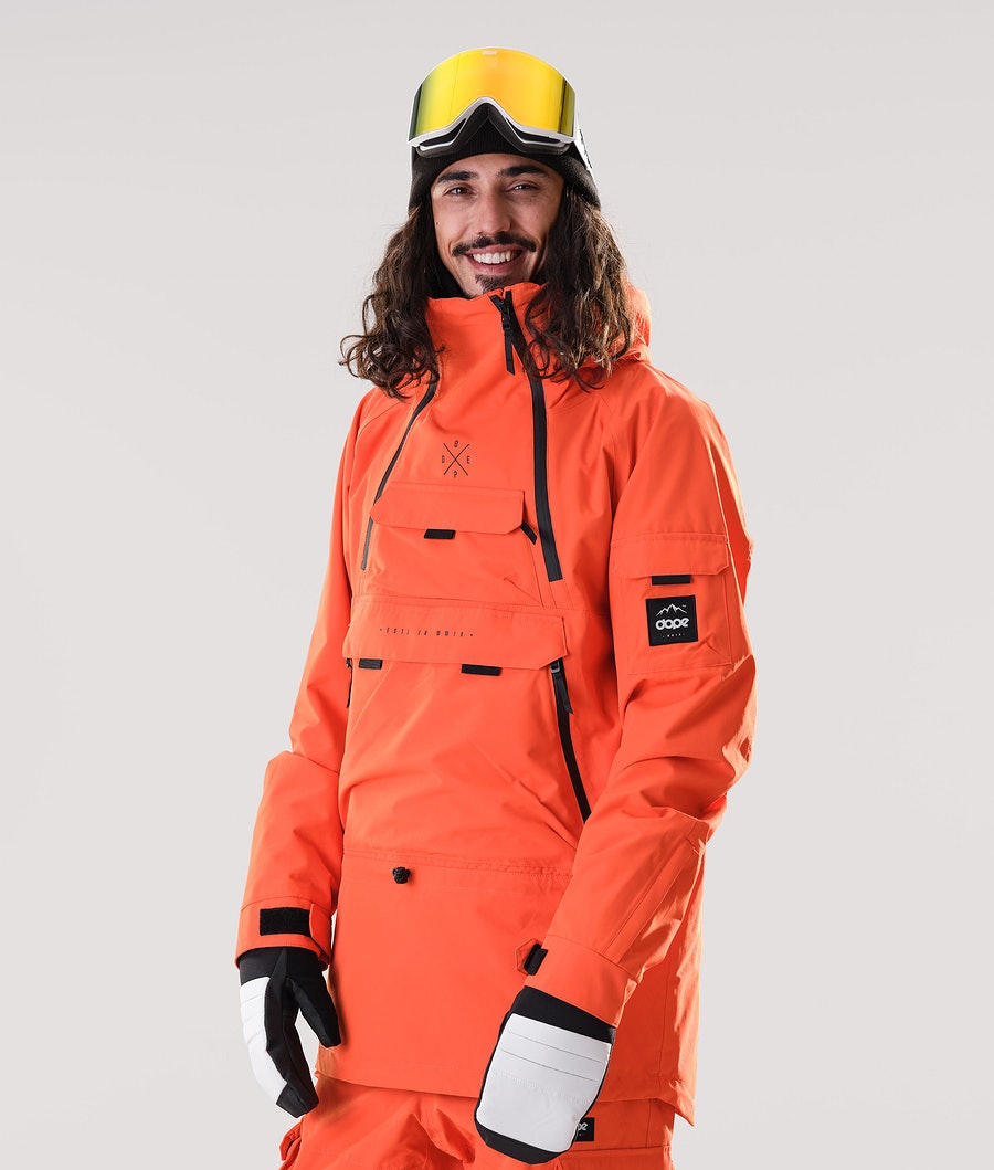 Dope Akin Veste de Snowboard Orange