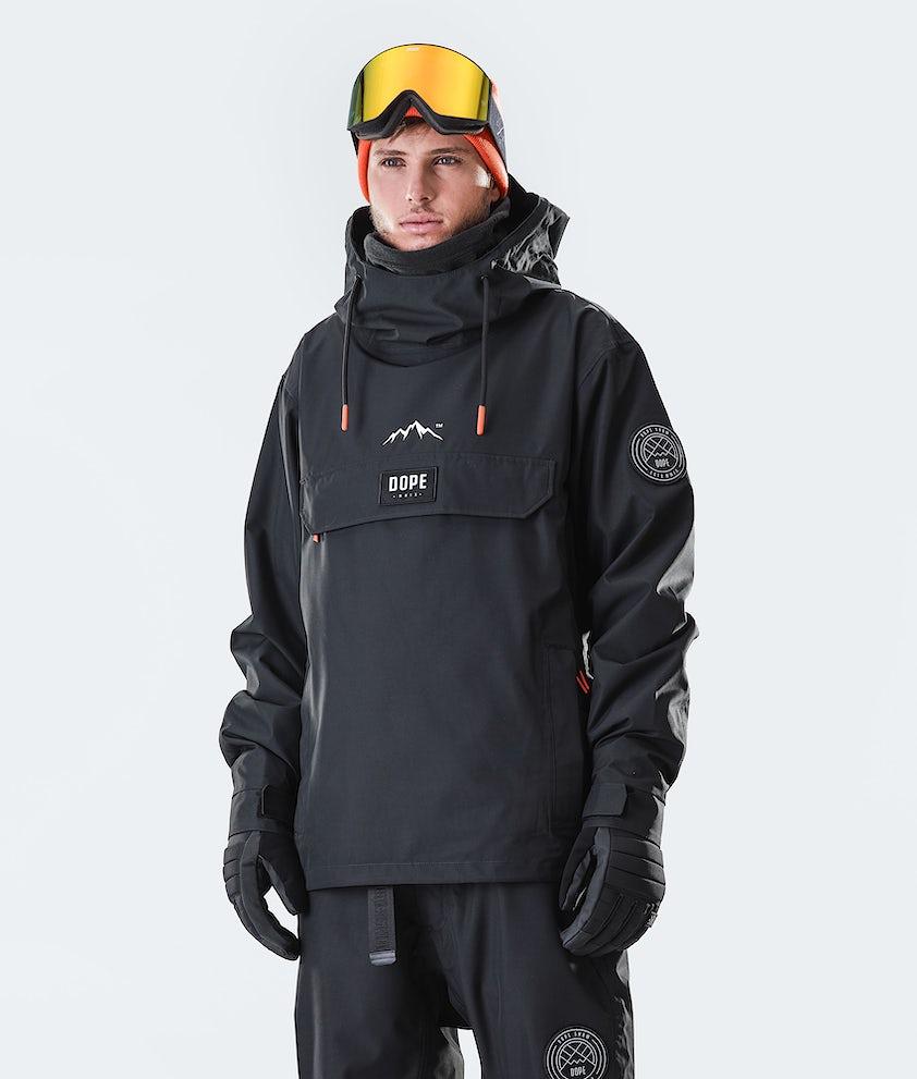 Dope Blizzard PO Snowboardjakke Black