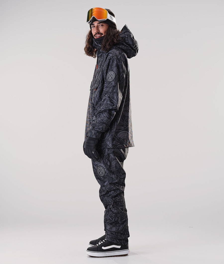 Dope Blizzard PO Snowboard Jacket Shallowtree