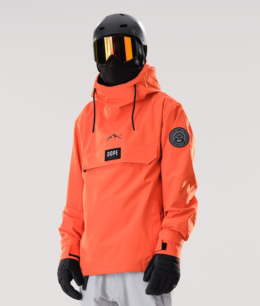 Dope Blizzard PO Veste de Snowboard Orange