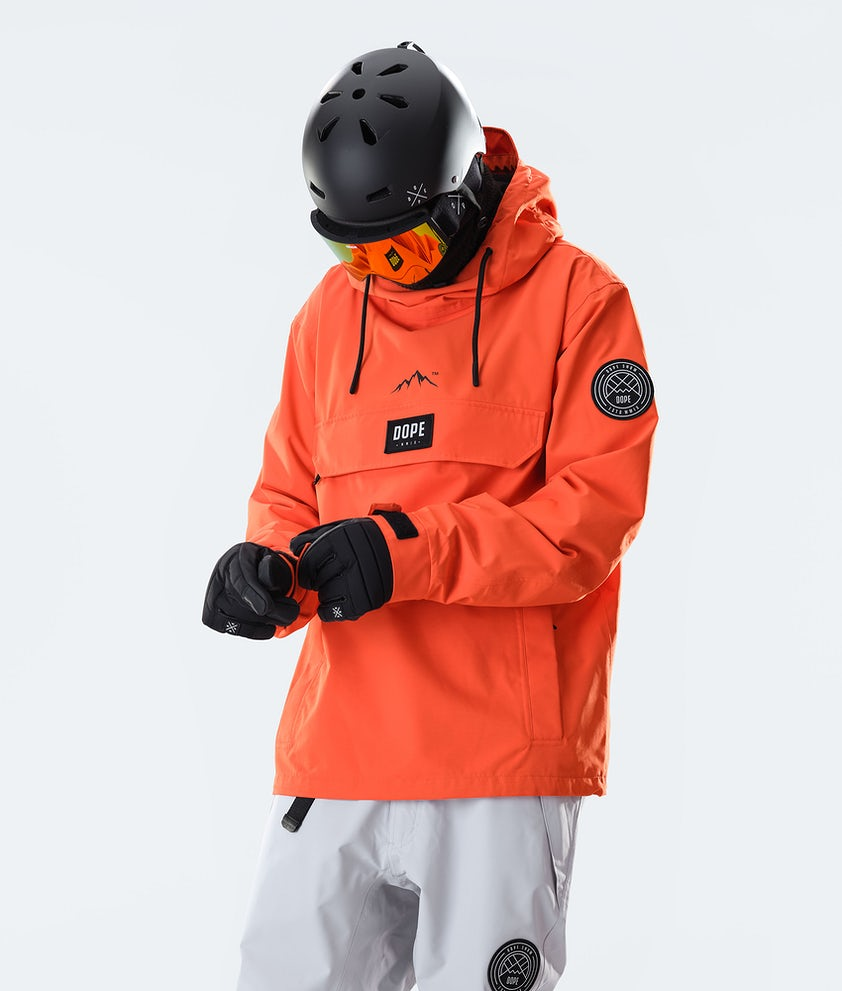 Dope Blizzard PO Giacca da Snowboard Orange