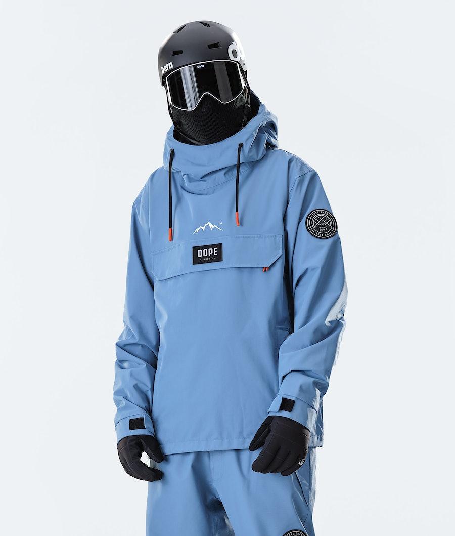 Dope Blizzard PO Snowboard jas Blue Steel
