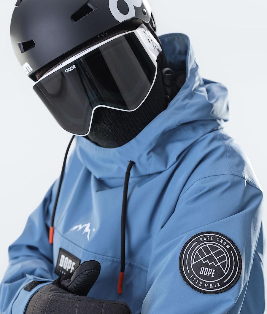 Dope Blizzard PO Veste de Ski Blue Steel