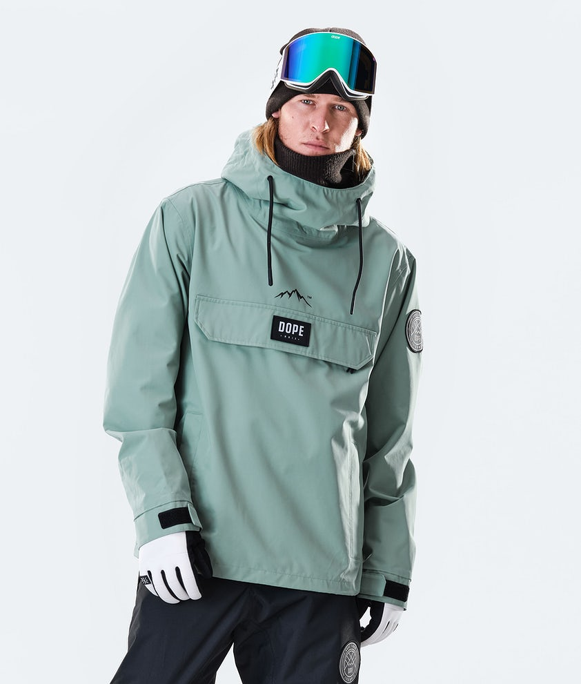 Dope Blizzard PO Veste de Ski Faded Green