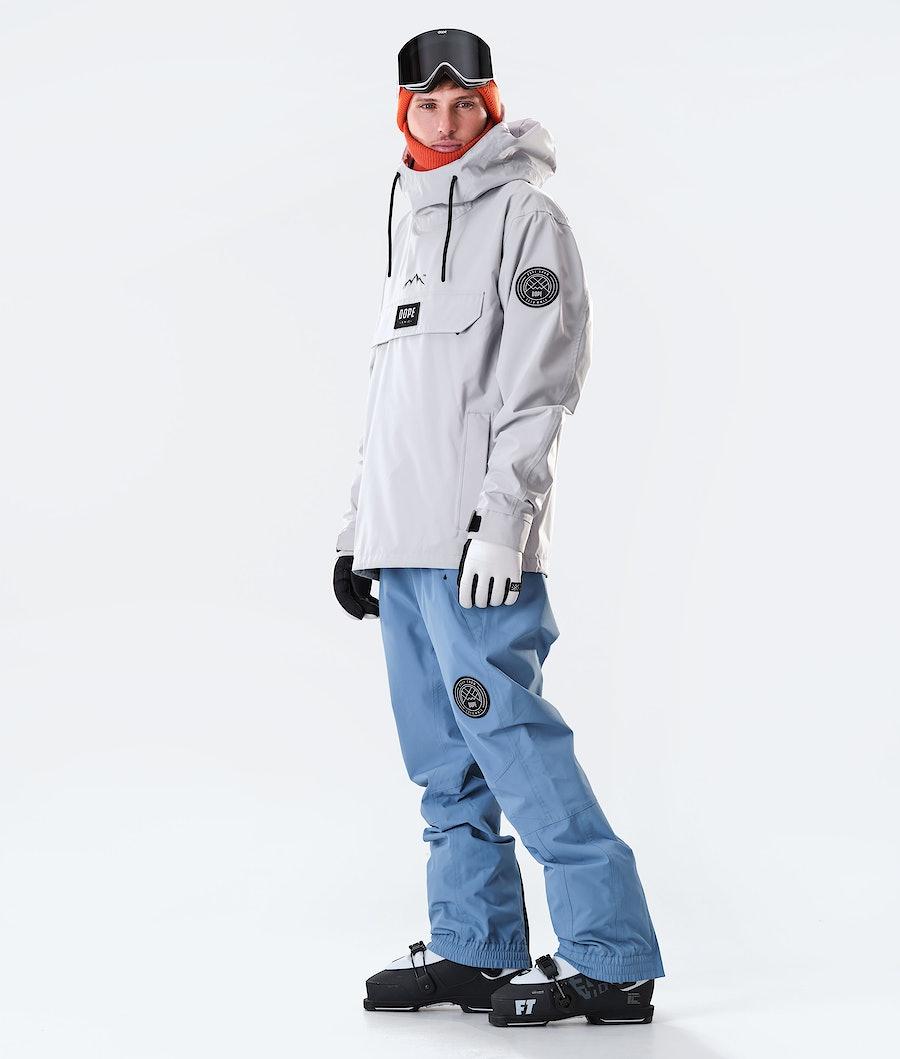 Dope Blizzard PO Skijakke Light Grey