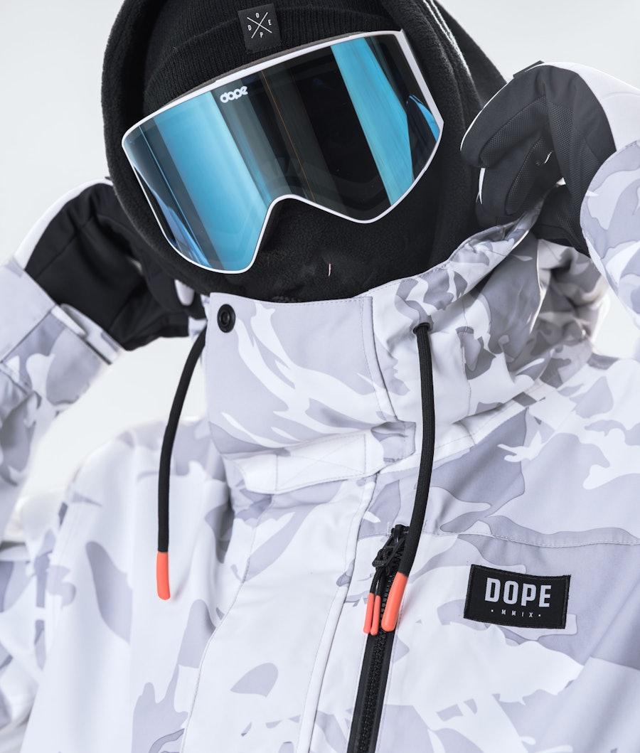 Dope Blizzard FZ Giacca da Snowboard Tucks Camo