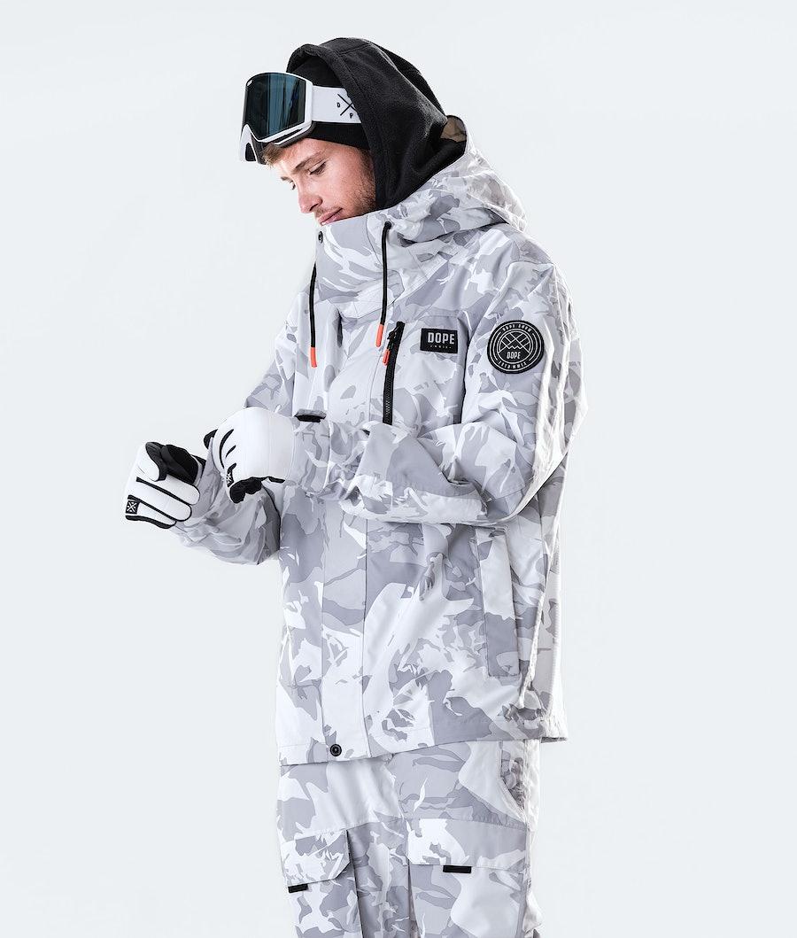 Dope Blizzard FZ Snowboard Jacket Tucks Camo
