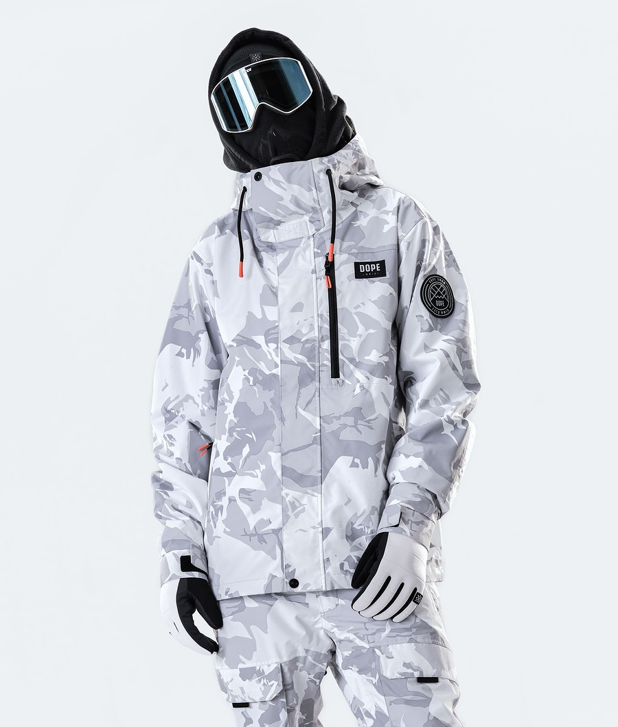 Dope Blizzard FZ Ski Jacket Tucks Camo
