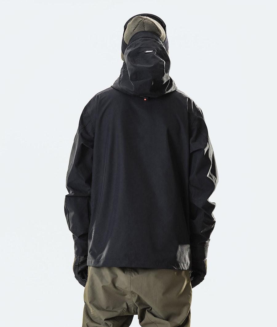 Dope Blizzard FZ Snowboard Jacket Black