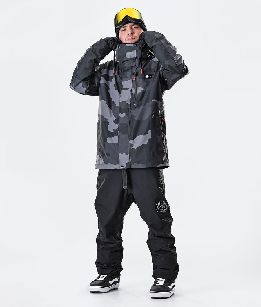 Dope Blizzard FZ Giacca da Snowboard Black Camo