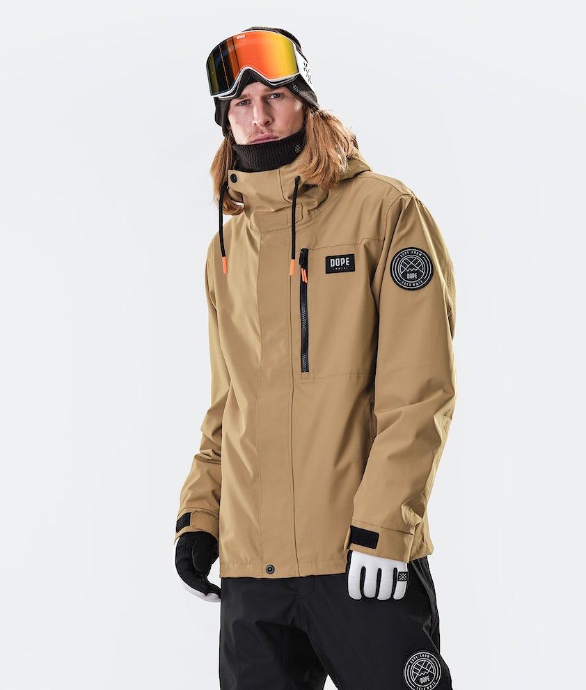 Dope Blizzard FZ Giacca da Snowboard Gold