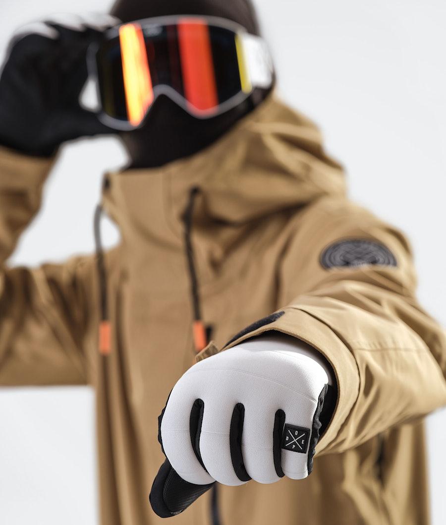 Dope Blizzard FZ Snowboard Jacket Gold