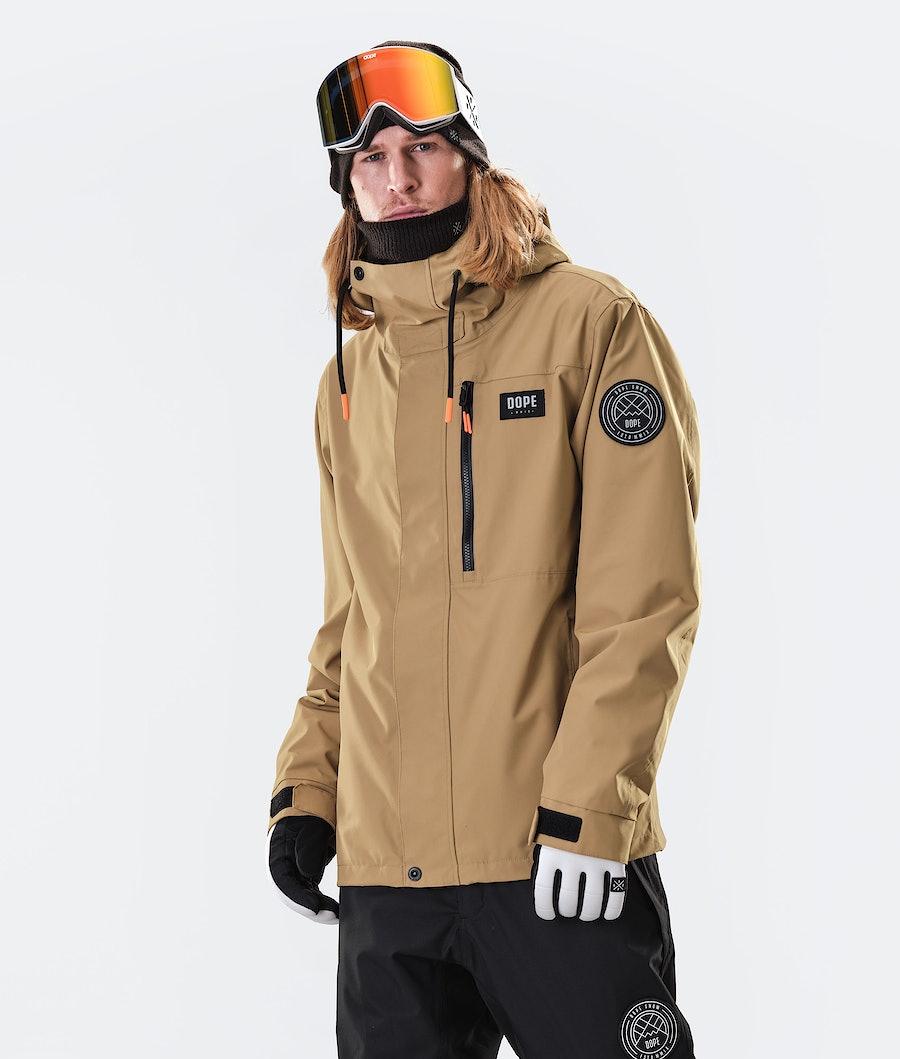 Dope Blizzard FZ Ski Jacket Gold