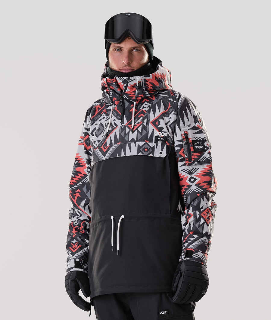 Dope Annok Veste de Snowboard Arrow Red/Black