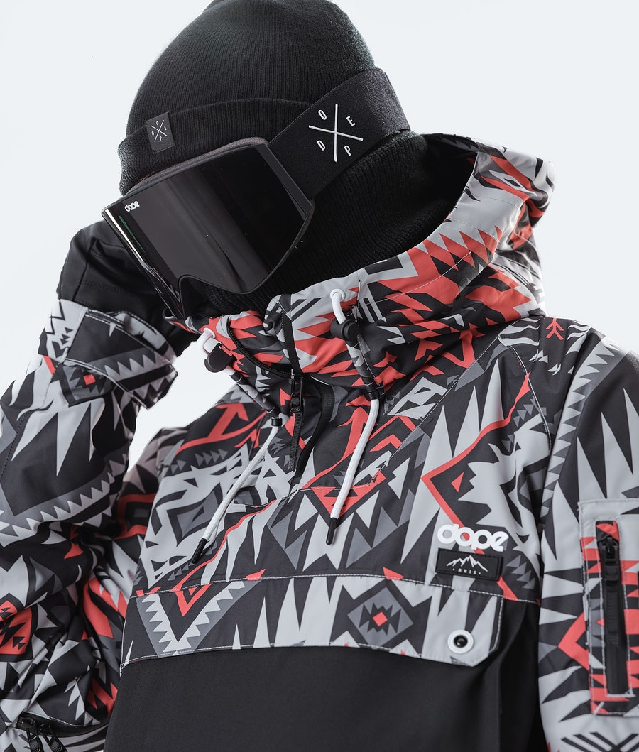 Dope Annok Snowboard Jacket Arrow Red/Black