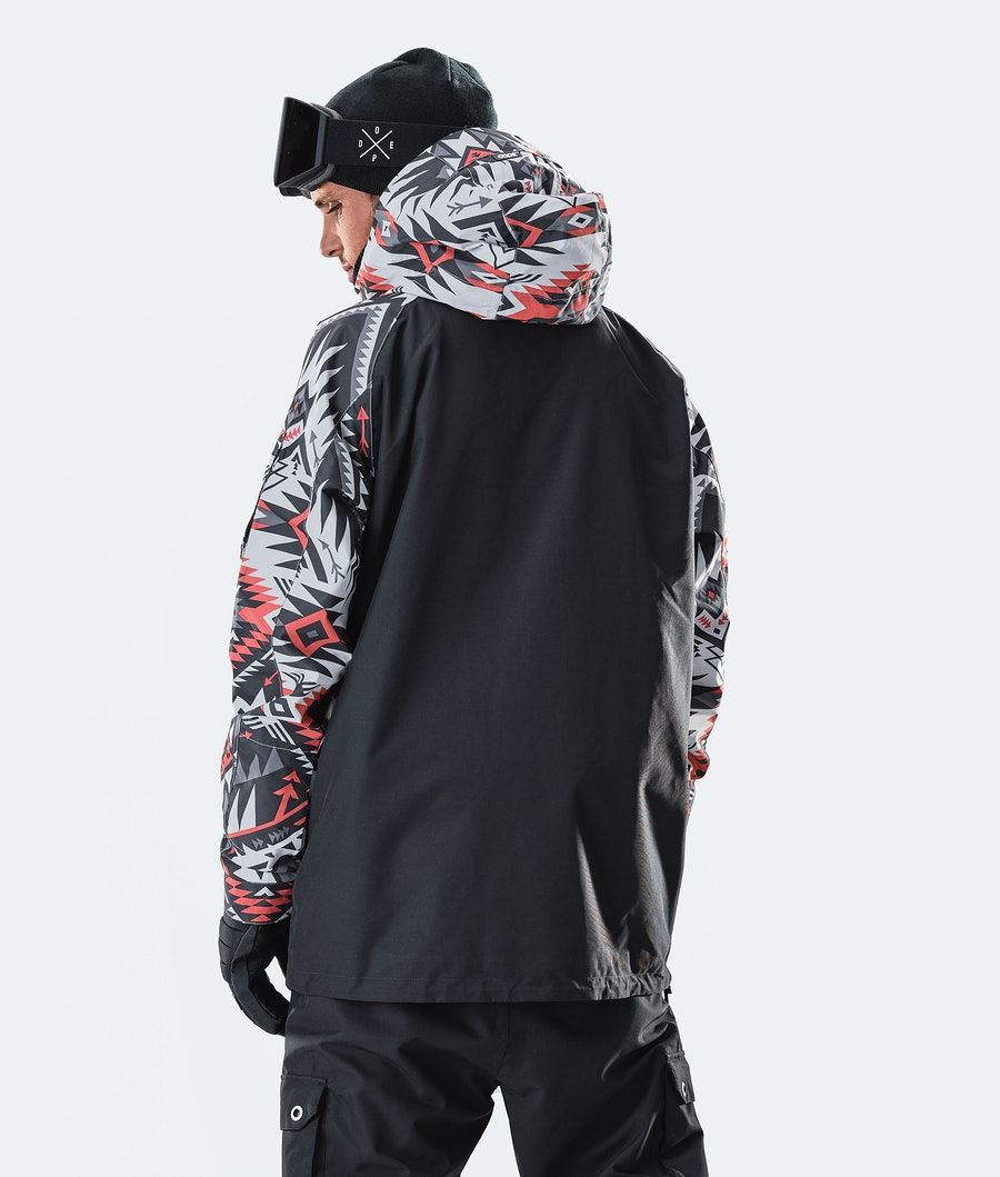 Dope Annok Ski Jacket Arrow Red/Black