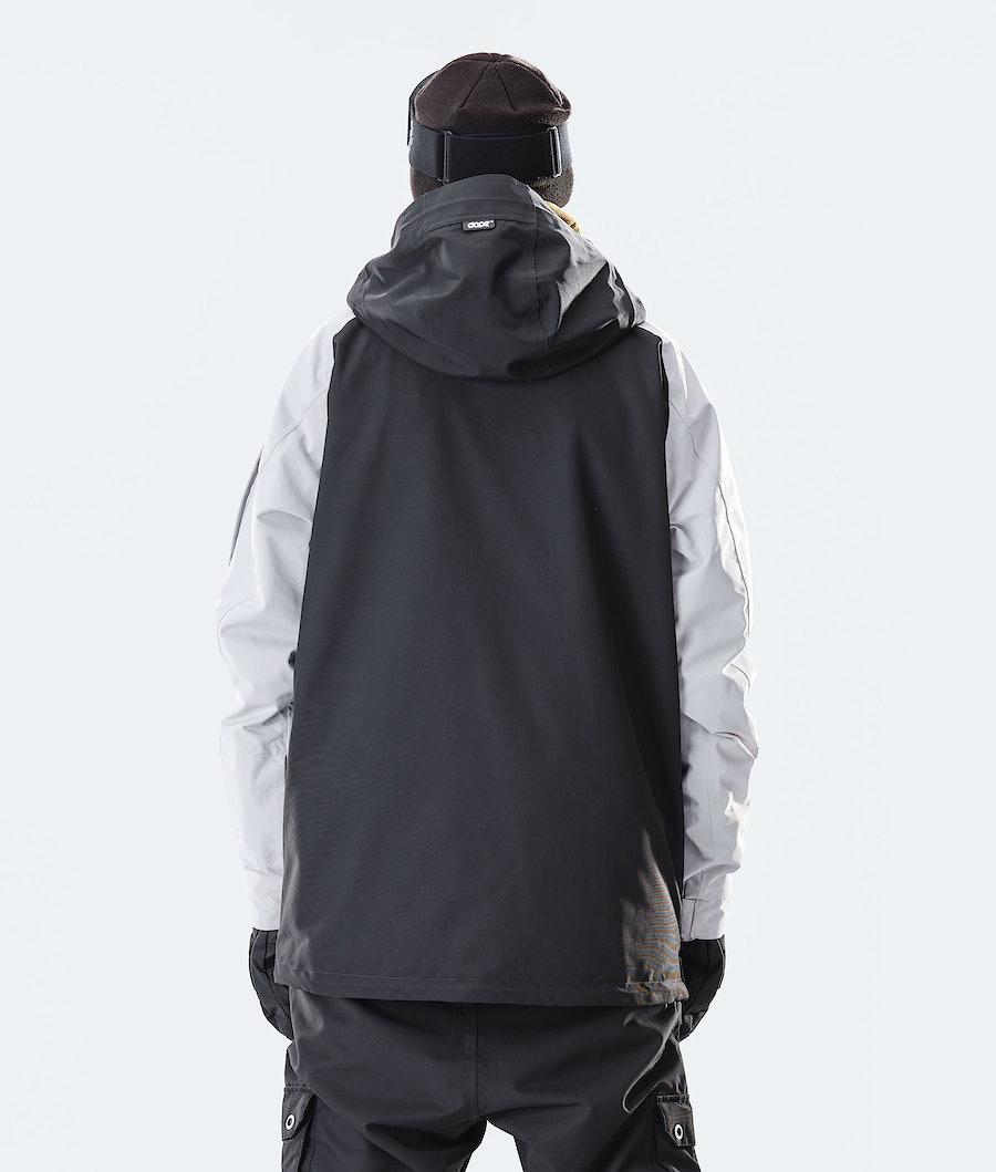 Dope Annok Snowboard Jacket Light Grey/Gold/Black
