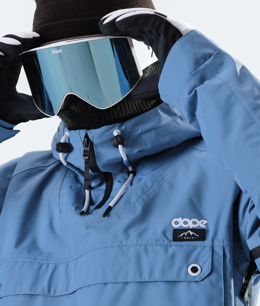 Dope Annok Snowboard Jacket Blue Steel