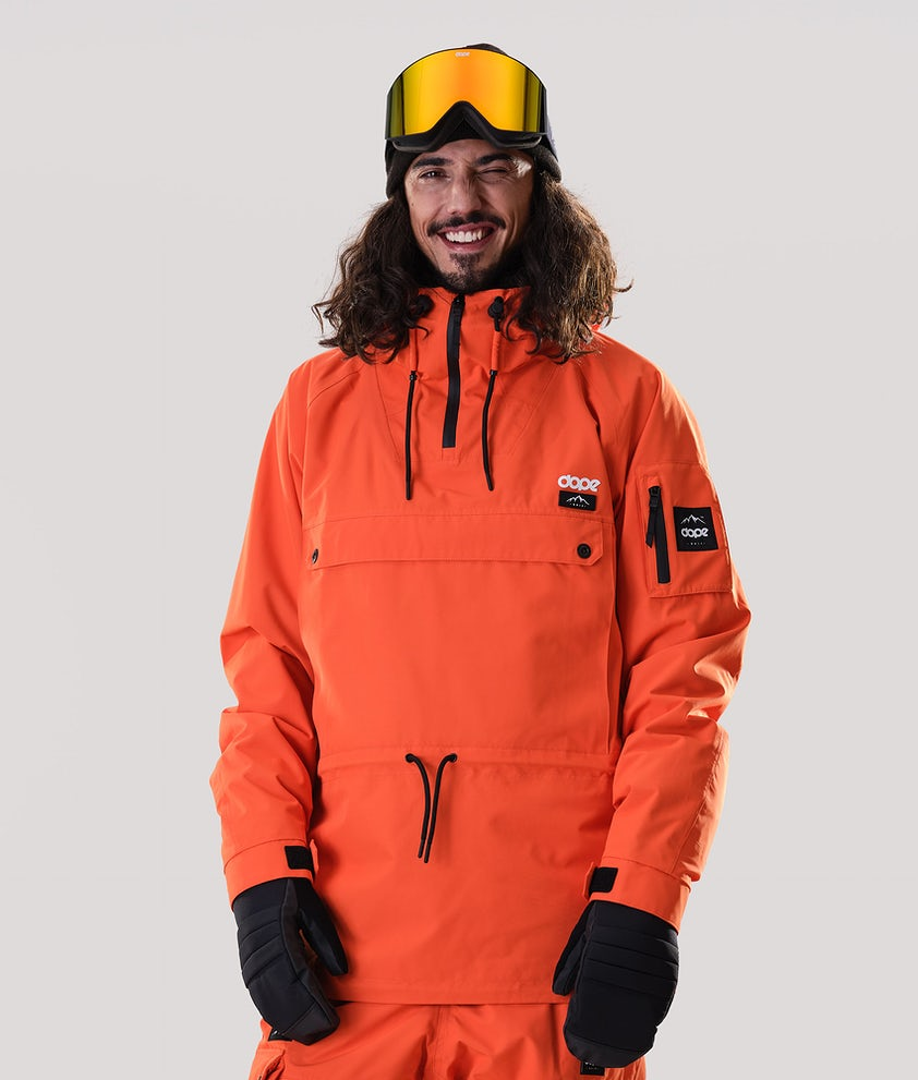 Dope Annok Snowboard Jacket Orange