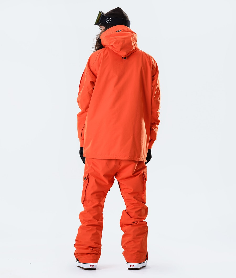 Dope Annok Snowboardjacke Orange