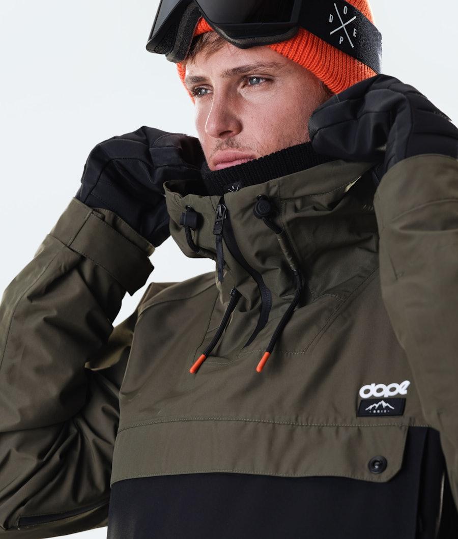 Dope Annok Snowboardjacka Olive Green/Black