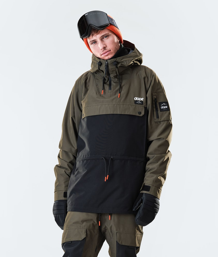 Dope Annok Ski Jacket Olive Green/Black