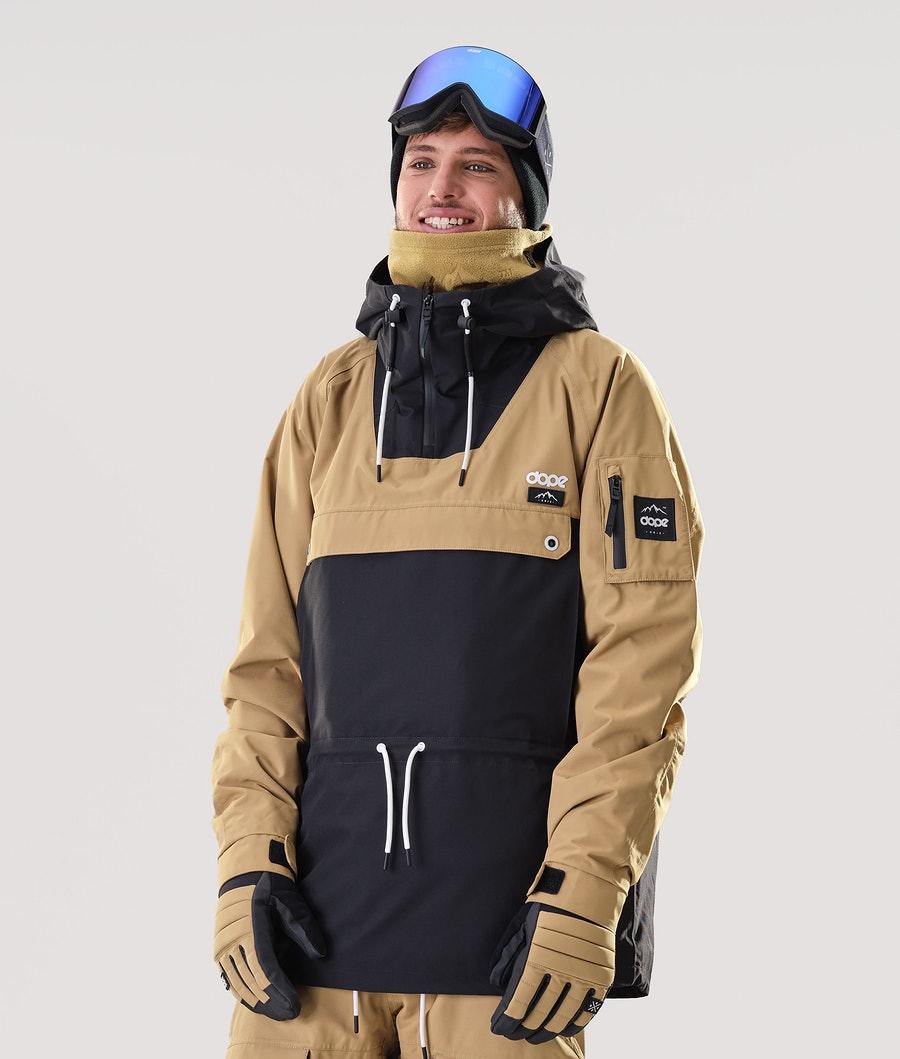 Dope Annok Snowboard Jacket Gold/Black