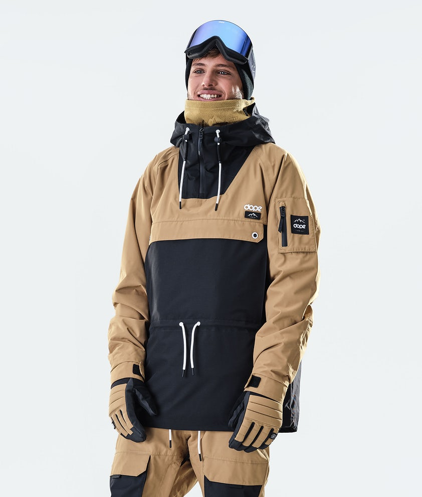 Dope Annok Ski Jacket Gold/Black