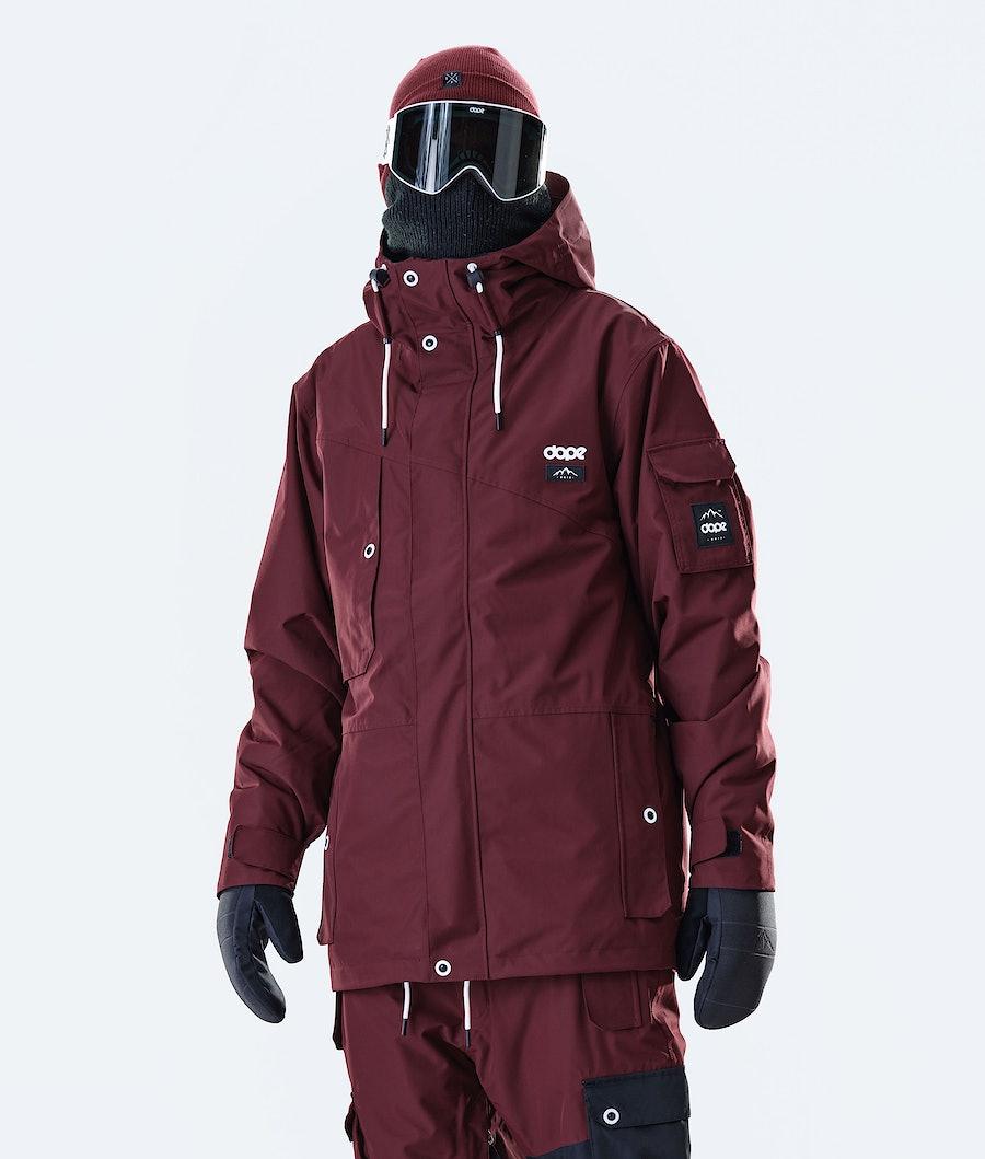 Dope Adept Snowboardjacke Burgundy