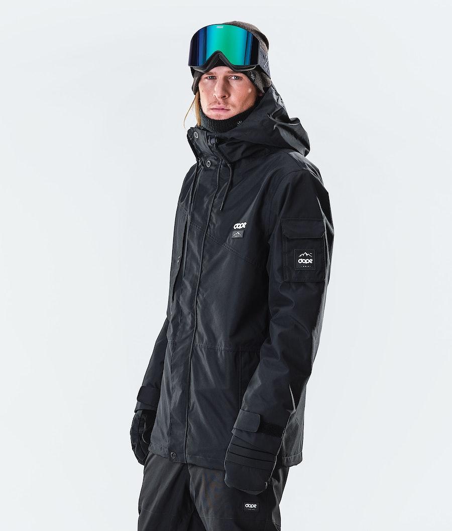 Dope Adept Snowboard Jacket Blackout