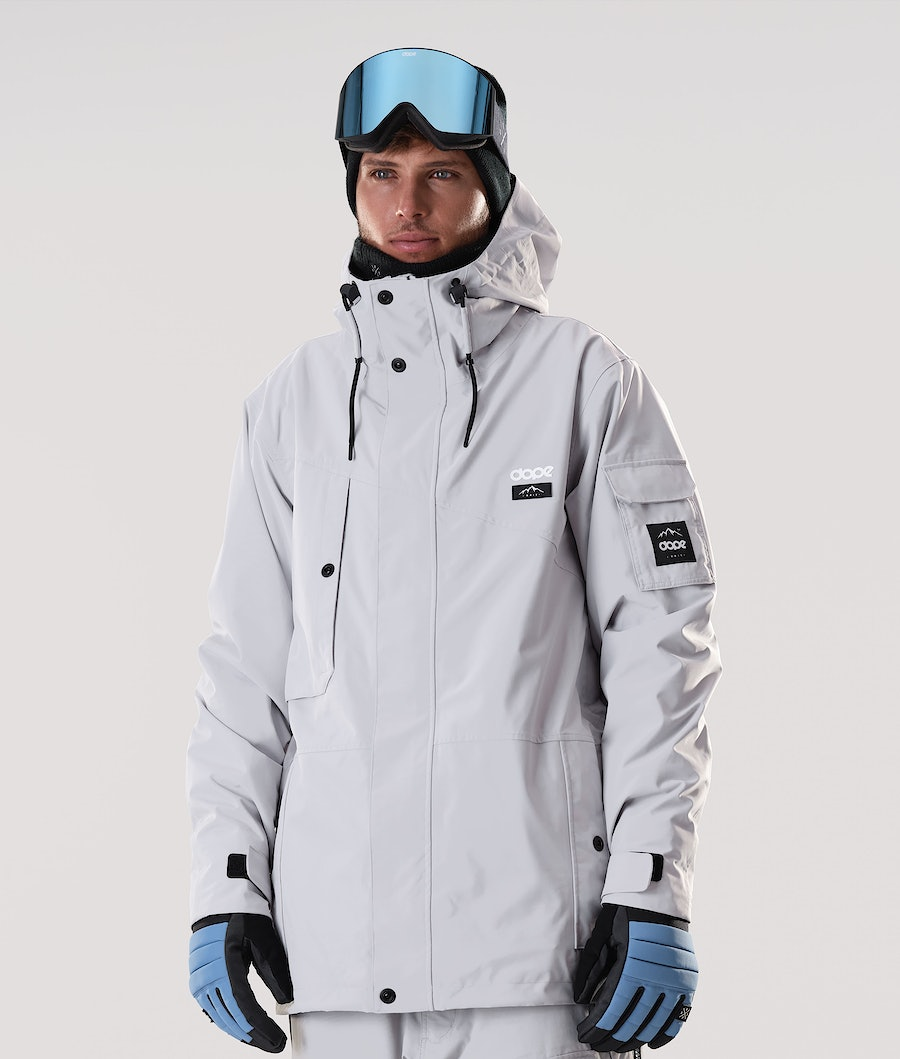 Dope Adept Veste de Snowboard Light Grey