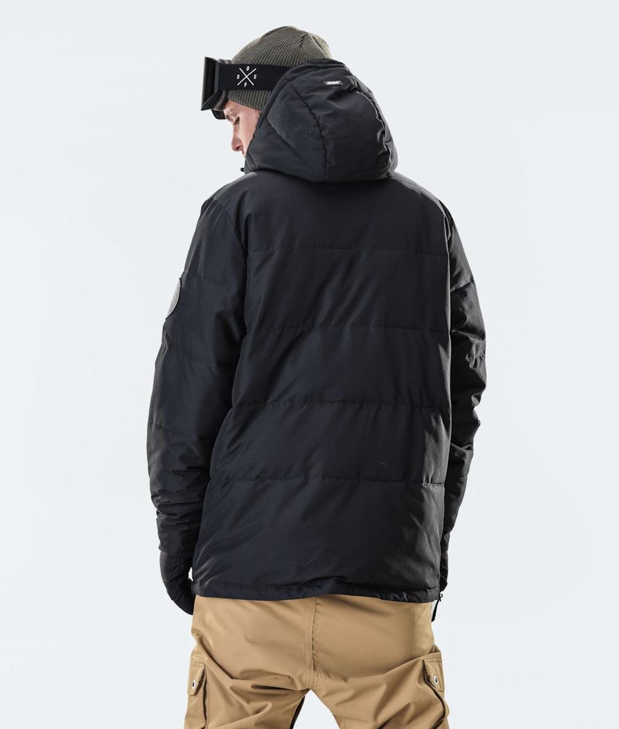 Dope Puffer Snowboard Jacket Black