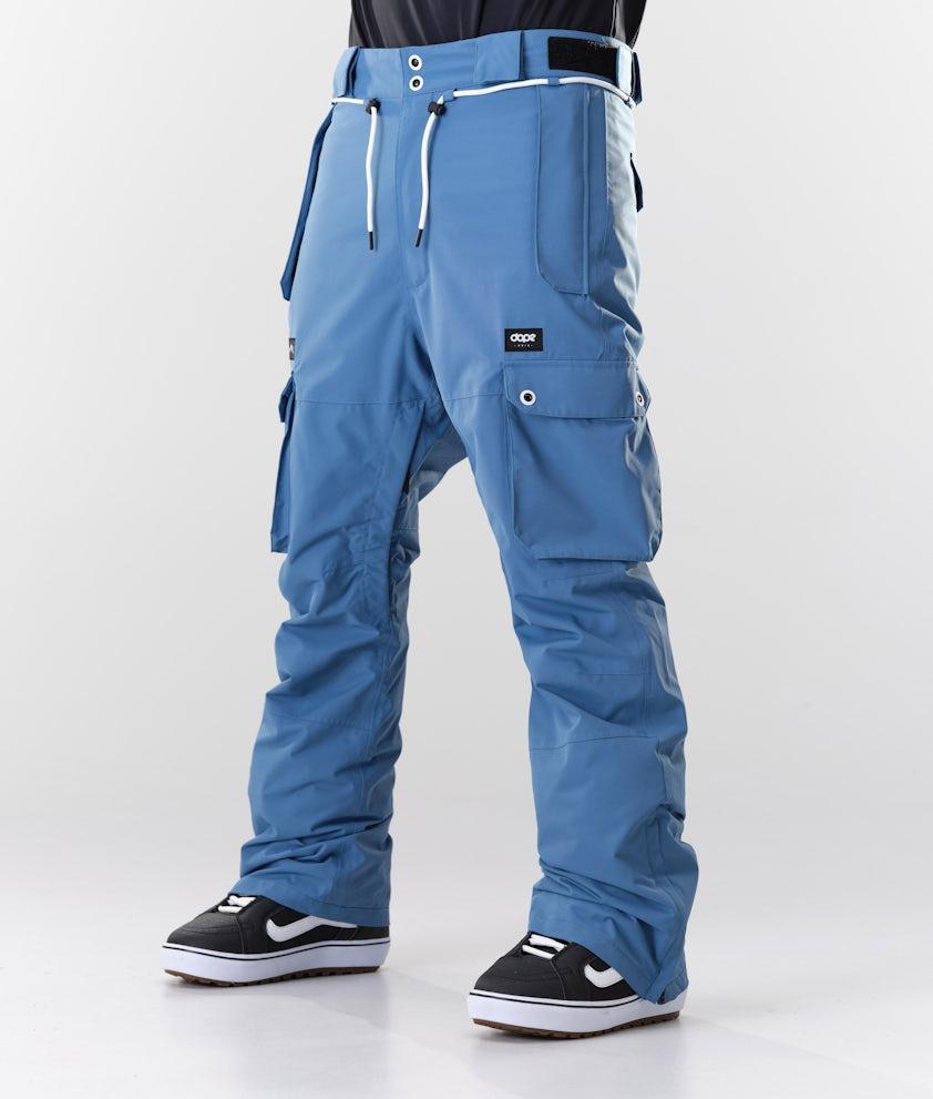 Dope Iconic Snowboardbyxa Blue Steel