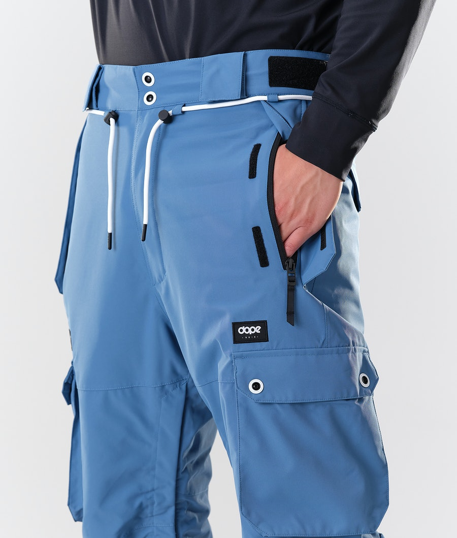 Dope Iconic Snowboard Pants Blue Steel