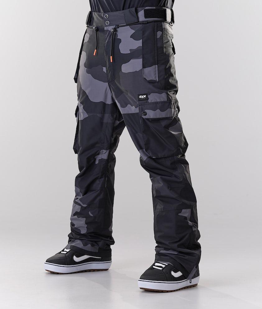 Dope Iconic Snowboardbyxa Black Camo