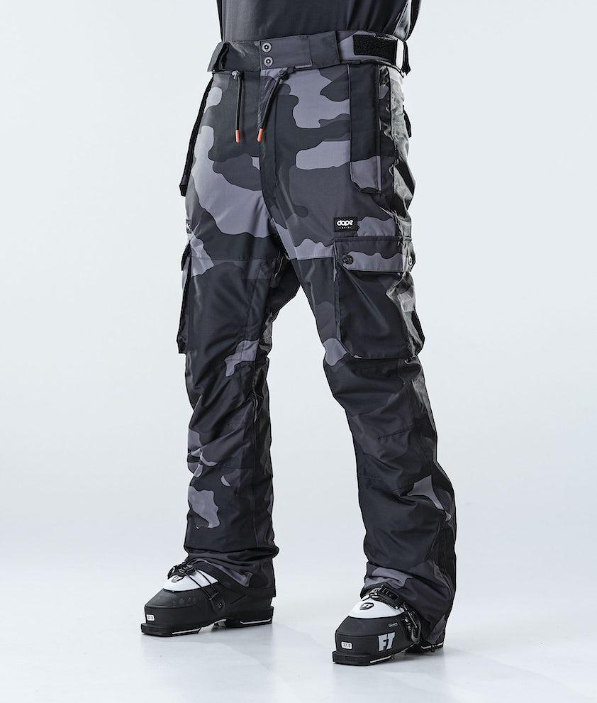 Dope Iconic Ski Pants Black Camo