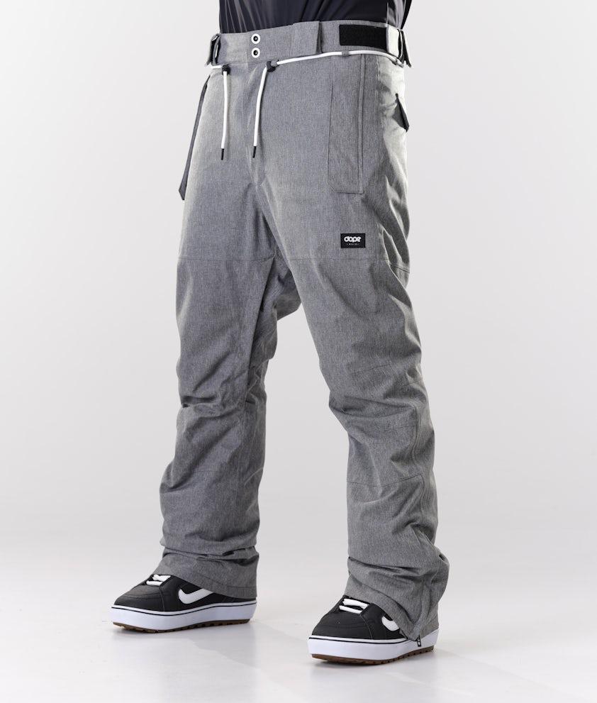 Dope Classic Snow Pants Grey Melange