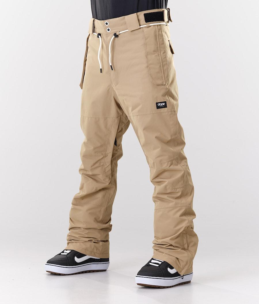 Dope Classic Sneeuw broek Khaki