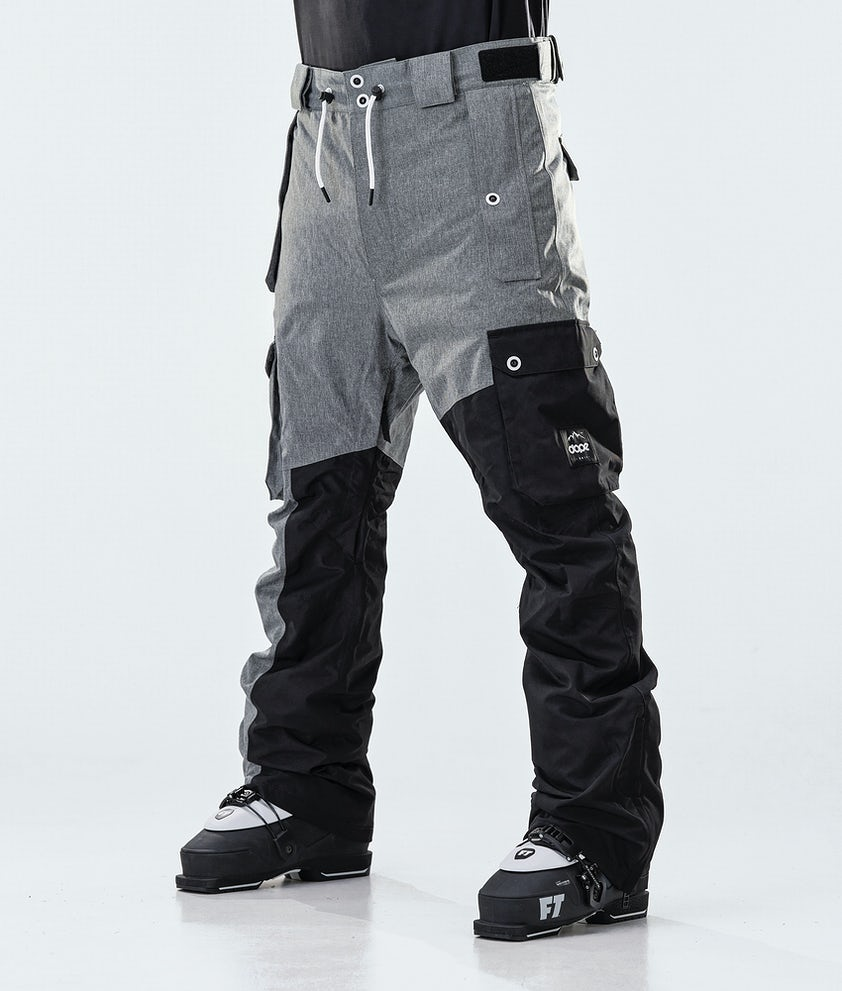 Dope Adept Ski Pants Grey Melange/Black